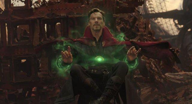 Doctor Strange en Vengadores: Endgame