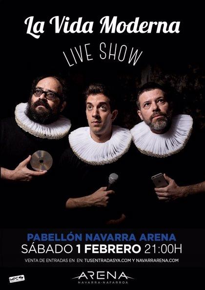 El show de La Vida Moderna llega al Navarra Arena el próximo 1 de febrero
