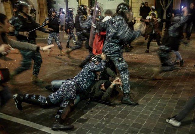 Disturbis a Beirut