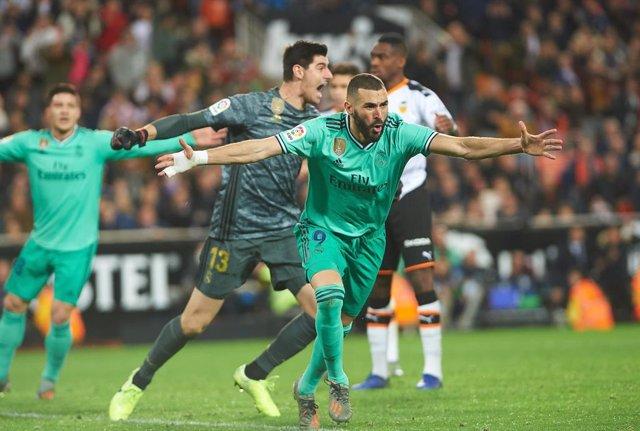 Fútbol/Primera.- Crónica del Valencia - Real Madrid, 1-1
