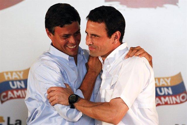 Henrique Capriles y Leopoldo López