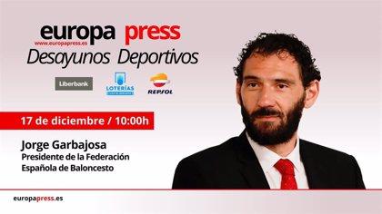 Garbajosa celebra este martes el ciclo de éxitos del baloncesto español en los Desayunos Deportivos de EP