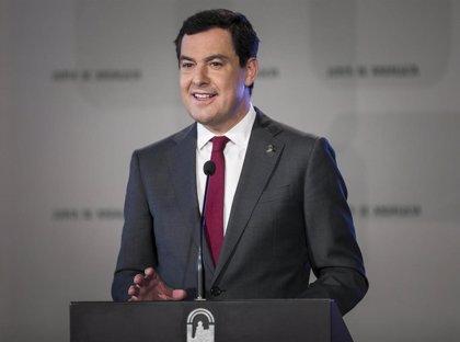 """Moreno espera una """"rectificación"""" del Gobierno en su intención de """"intervenir"""" la financiación de Andalucía"""