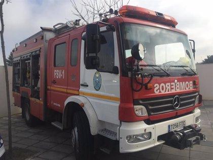Cuatro heridos, uno menor con quemaduras, en el incendio de una vivienda en Córdoba