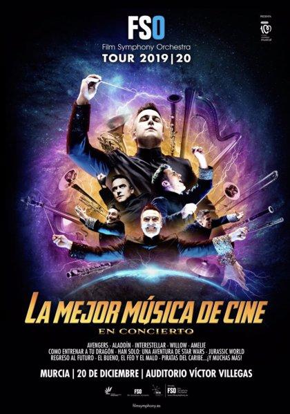 El Auditorio regional recibe a la Film Symphony Orchestra con su espectáculo '¡La mejor música de cine en concierto!'