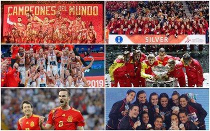 Las selecciones españolas y su brillante 2019