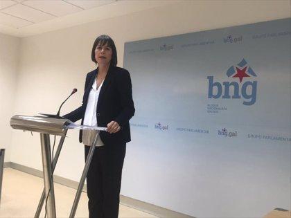 """Pontón asegura que el BNG """"no comparte"""" la línea acordada Anova para trabajar en """"alianzas con fuerzas estatales"""""""