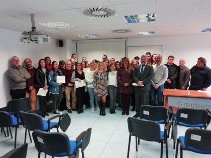 Treinta desempleados de Puerto Real participan en talleres de empleo subvencionados por la Junta
