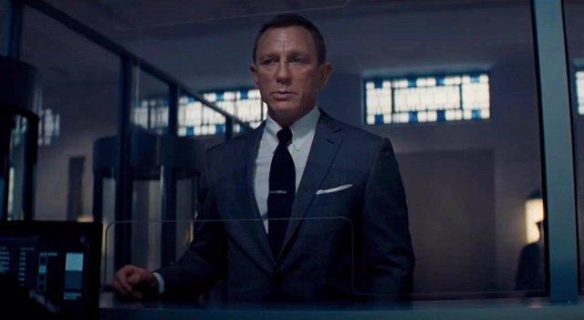 Daniel Craig es James Bond en 'Sin tiempo para morir'