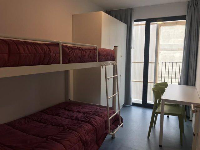 FOTO: Interior d'un dels pisos de l'Aprop del barri Gòtic de Barcelona