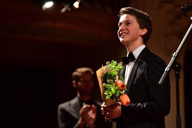 El pianista Daumants Liepins guanyador del Maria Canals 2019 (arxiu)