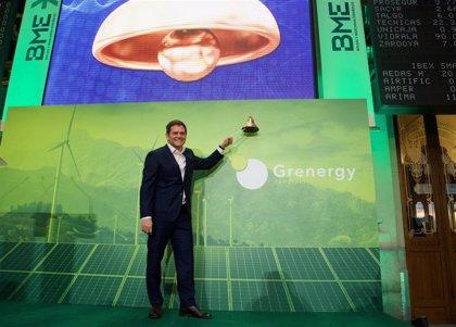 Grenergy se desploma un 14% en su debut en el Continuo