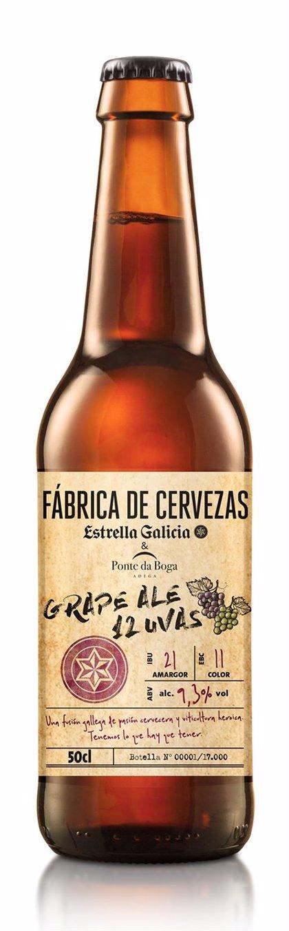 Estrella Galicia propone brindar en Fin de Año con una cerveza creada con 12 variedades de uva