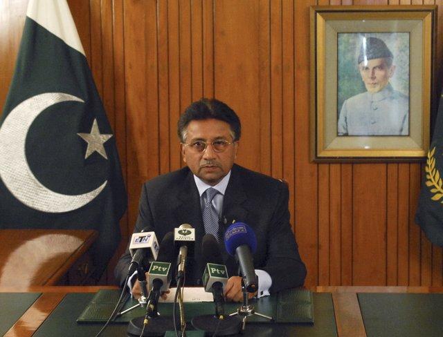 Perverz Musharraf, en una imagen de archivo en Islamabad