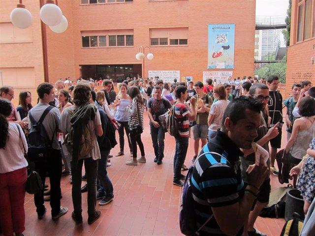 Pruebas de selectividad (PAU) en Barcelona