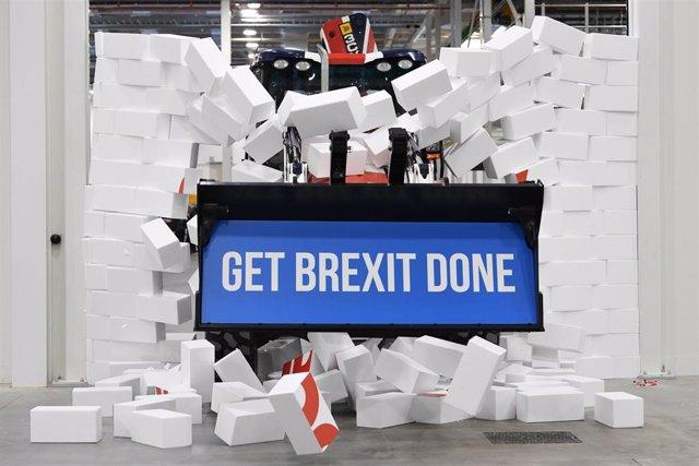 Lema del Partido Conservador para el Brexit