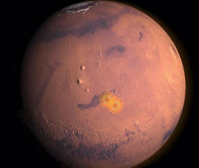Primera zona sísmica activa localizada en Marte