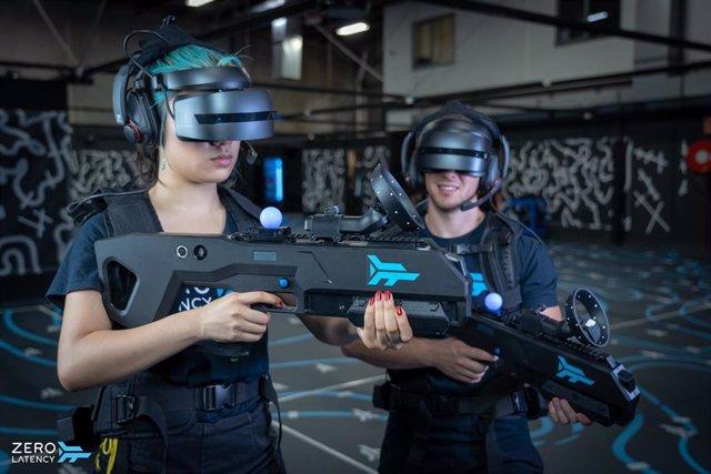 La realidad virtual más realista se puede encontrar en el centro de Zero Latency en intu Puerto Venecia