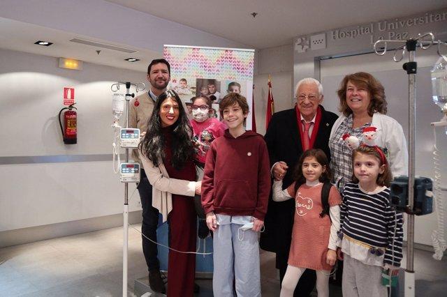 Rueda de prensa de NUPA y el Hospital de La Paz de Madrid