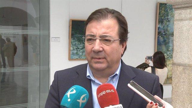 Imagen de archivo del presidente de la Junta, Guillermo Fernández Vara