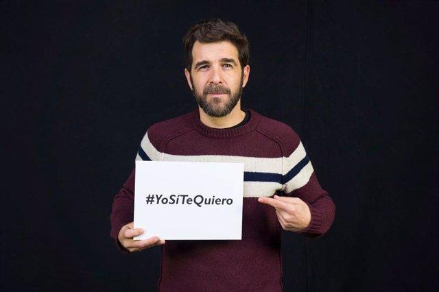 El periodista Gonzo se suma a la campaña #YoSíTeQuiero