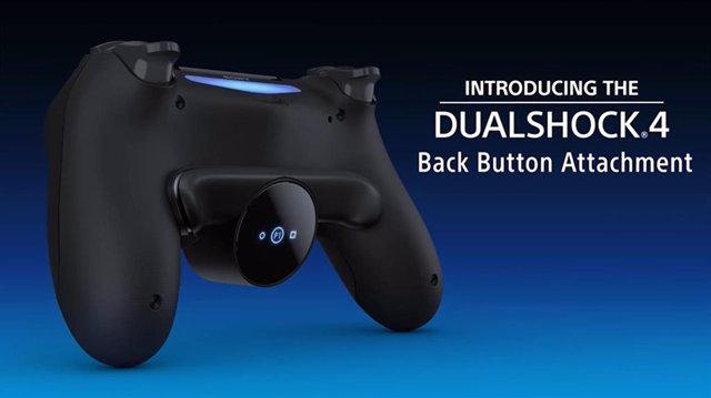 Nuevo accesorio de botones traseros para el mando DualShock 4, de PlayStation 4.