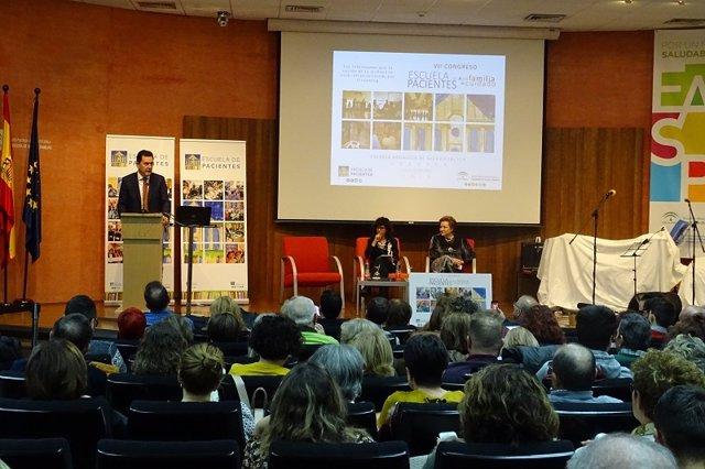 Imagen del VII Congreso de Pacientes de la EASP en Granada