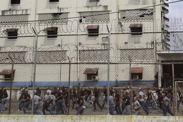 Cárcel panameña en la ciudad de Colón.