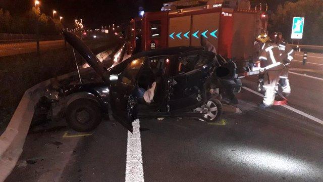 Detingut el conductor que va causar la mort d'un nadó a Cubelles (Barcelona).