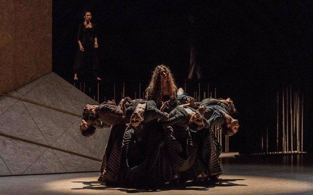 Escena del ballet 'Electra', de Antonio Ruz.