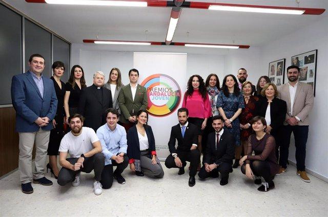 Premiados del certamen Andalucía Joven