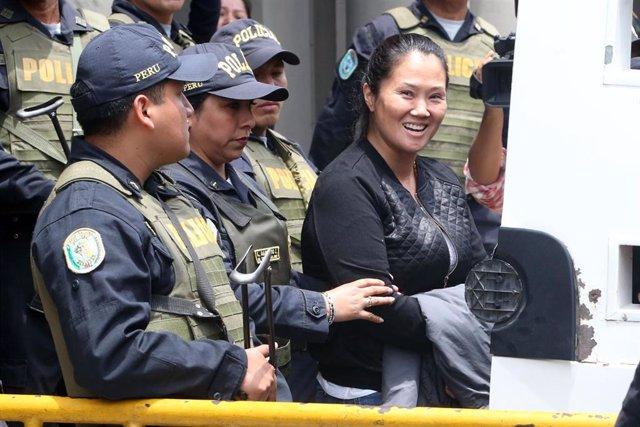 Keiko Fujimori es trasladada a prisión