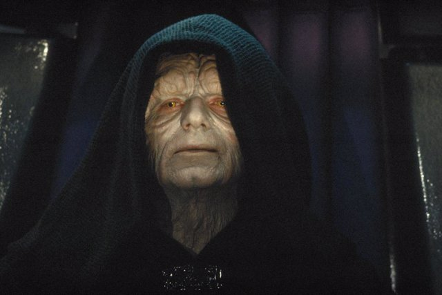 El emperador Palpatine en Star Wars: El ascenso de Skywalker