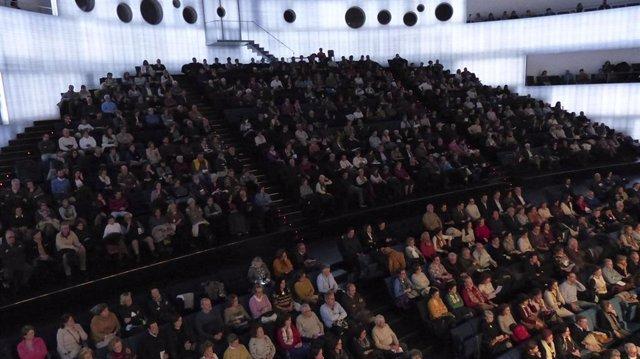 Asistencia a un concierto de la Orquesta de Extremadura