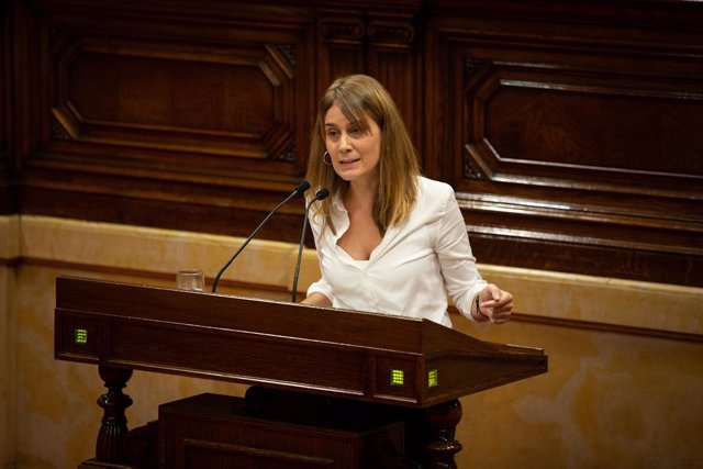 La líder de CatECP al Parlament, Jéssica Albiach.