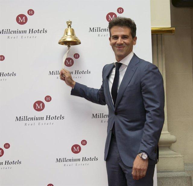 Javier Illán, presidente de Millenium Hotels Real Estate