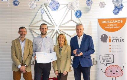 BMS recibe el sello 'Brain caring People' por concienciar sobre el ictus entre sus empleados