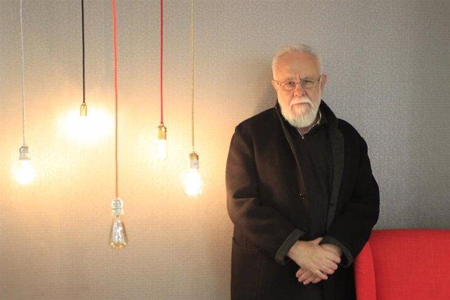 El escritor y director de cine asturiano Gonzalo Suárez.