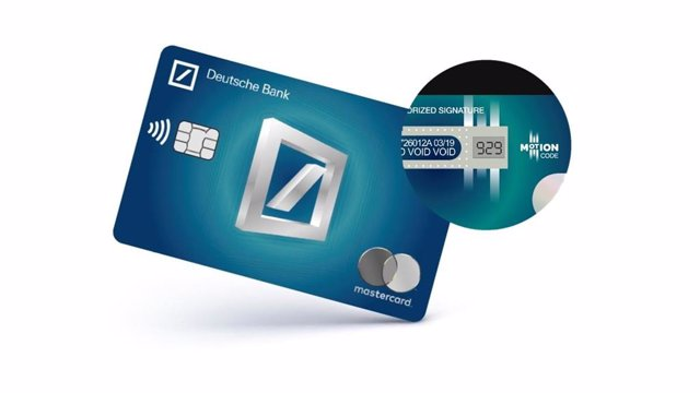 Tarjeta Calma Deutsche Bank
