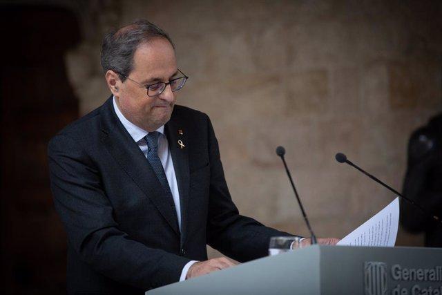 El president català, Quim Torra (arxiu)