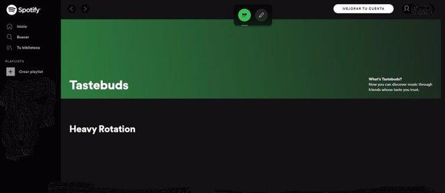 Spotify trabaja en Tastebuds, la función que permite ver lo que tus amigos están