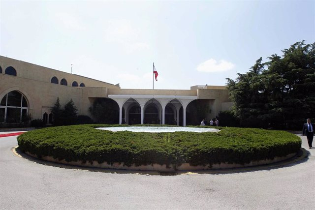 El Palacio de Baabda, sede de la Presidencia de Líbano
