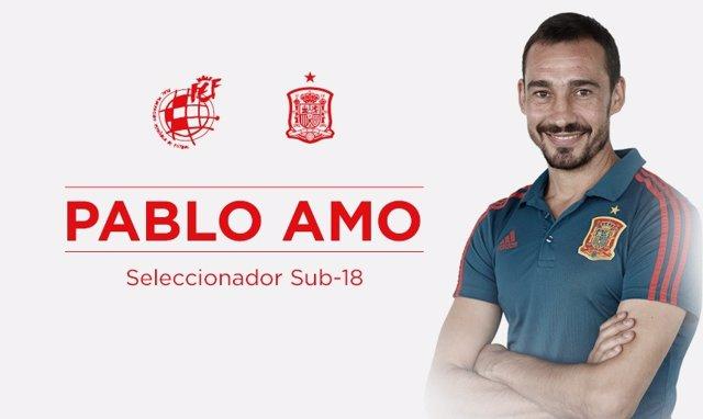 Fútbol.- Pablo Amo, nuevo seleccionador español Sub-18