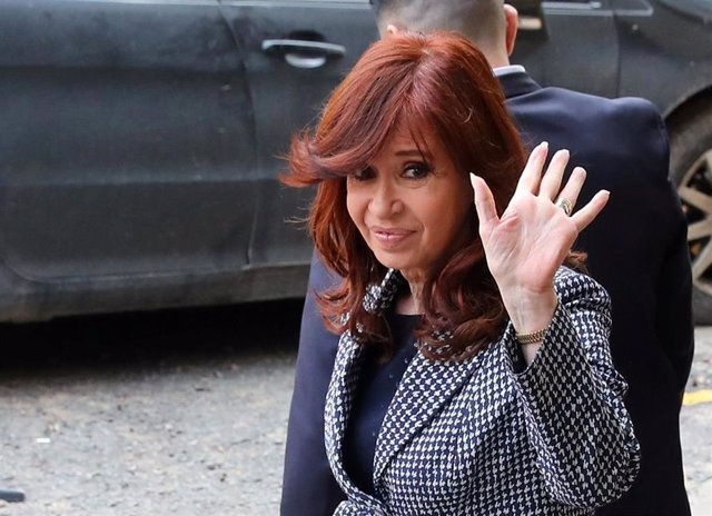 La ex presidenta y vicepresidenta de Argentina, Cristina Fernández de Kirchner