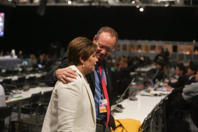 """COP25.- La jefa de Cambio Climático de la ONU pide """"verdadero espíritu de multil"""