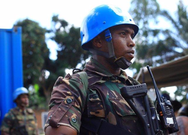 Integrante de la MONUSCO en República Democrática del Congo