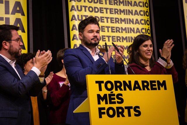 El diputat al Congrés dels Diputats per ERC, Gabriel Rufián
