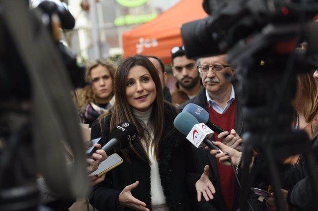 La líder de Cs a Catalunya, Lorena Roldán