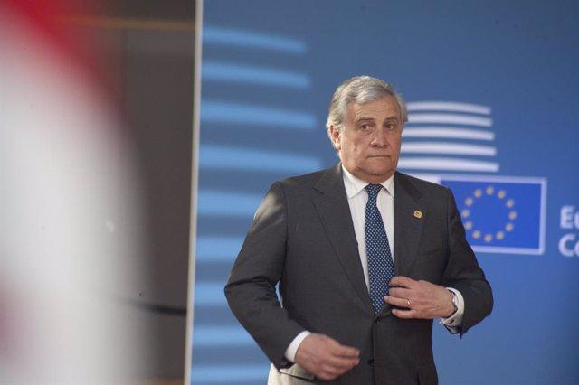 L'expresident del Parlament Europeu Antonio Tajani