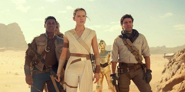 Protagonistas de Star Wars: El ascenso de Skywalker